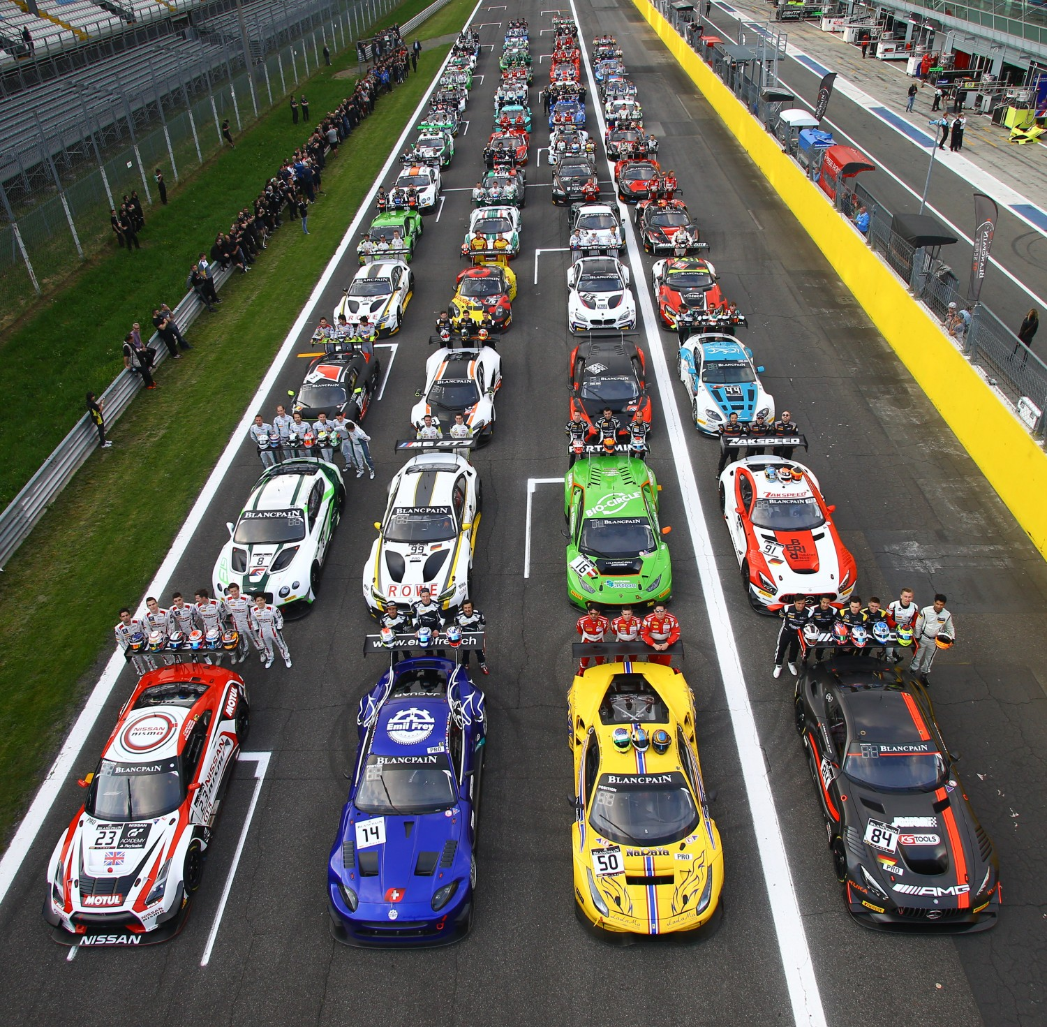 Facts and figures of the 2016 Blancpain GT Series
