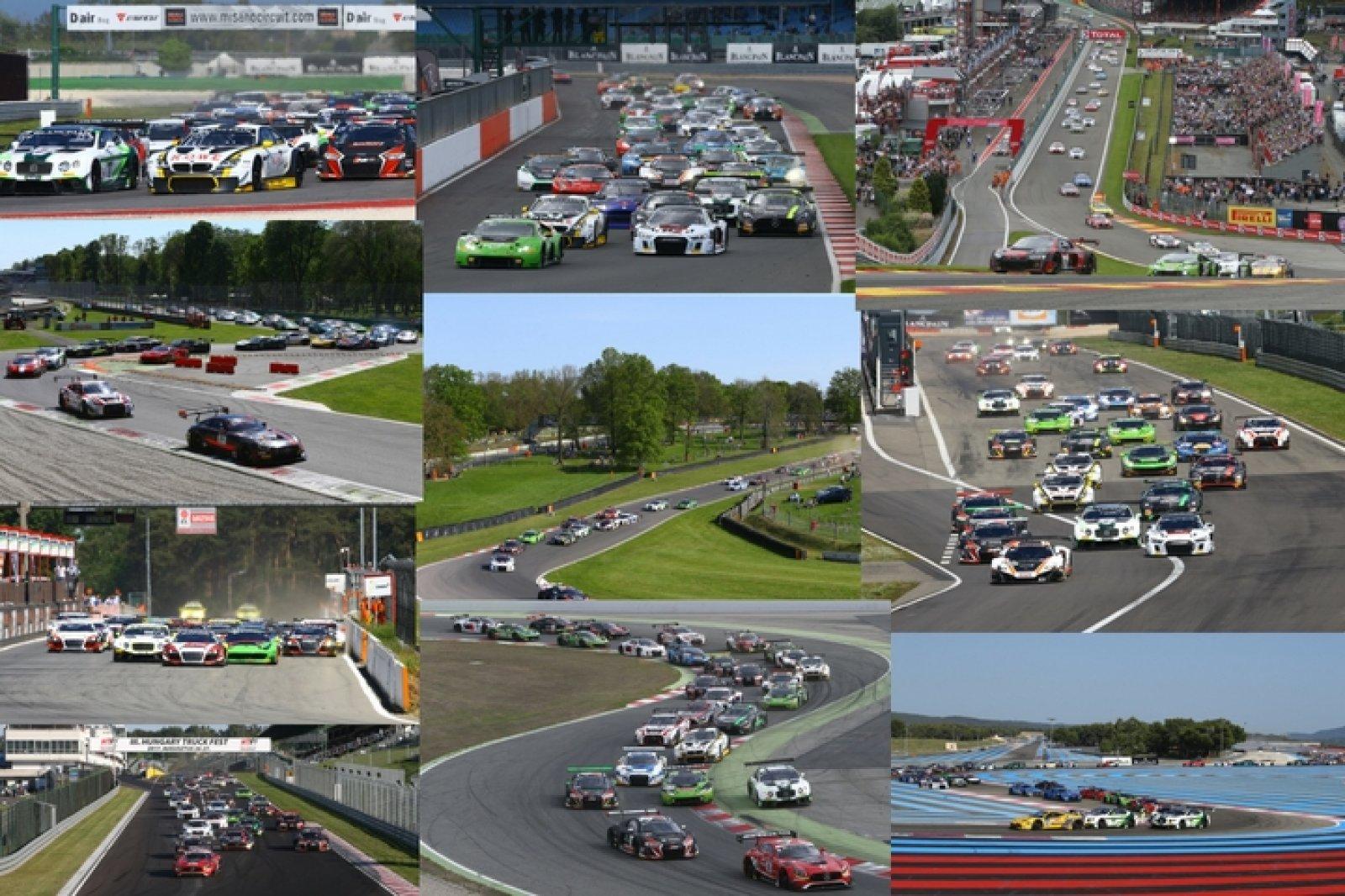 2017 Blancpain GT Series calendar finalised