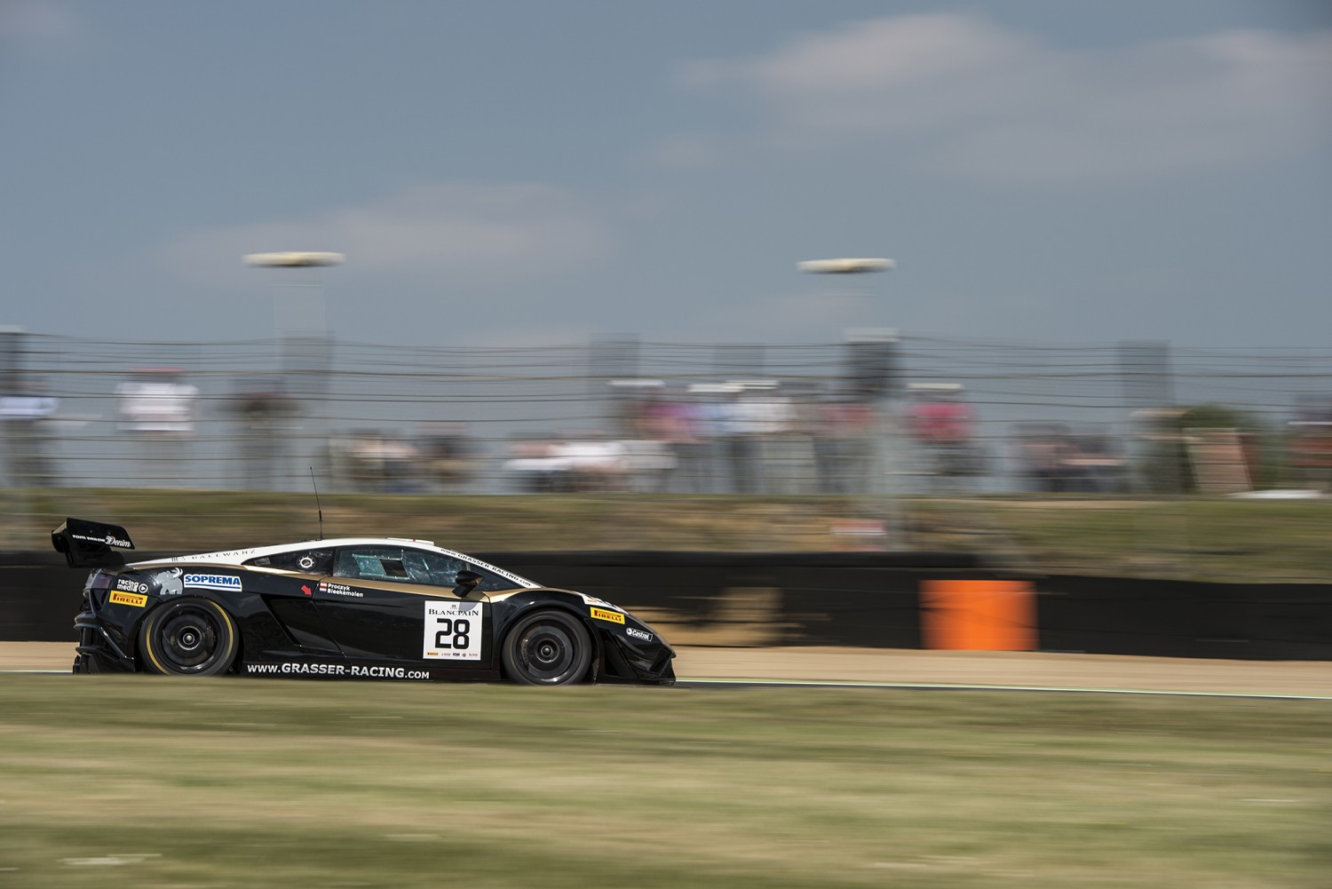 Blancpain Sprint Series - Main Race Brands Hatch -  Grasser Racing Team Lamborghini takes both wins at Brands Hatch
