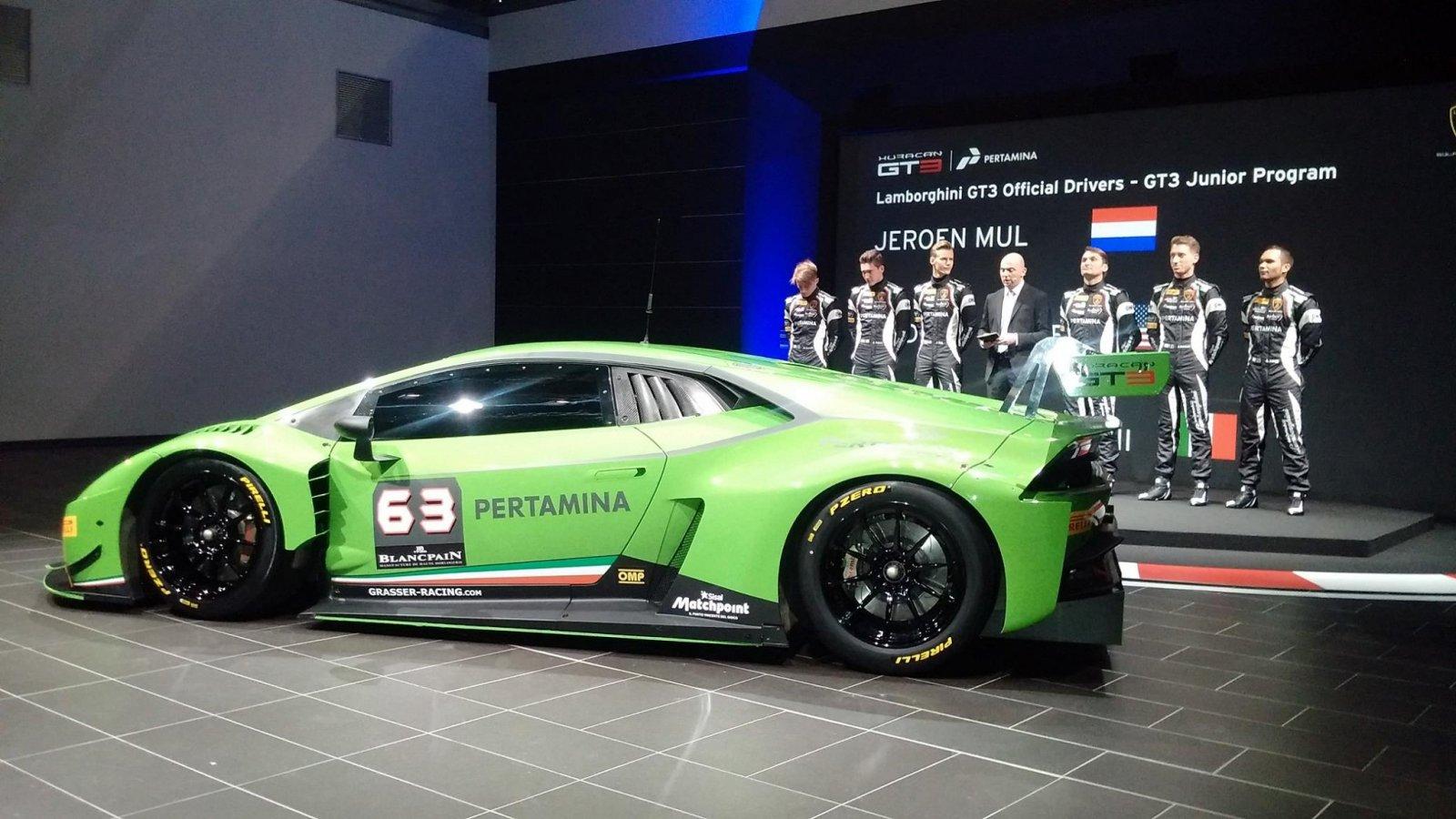New Huracán with Grasser Racing Team in Blancpain Endurance Series