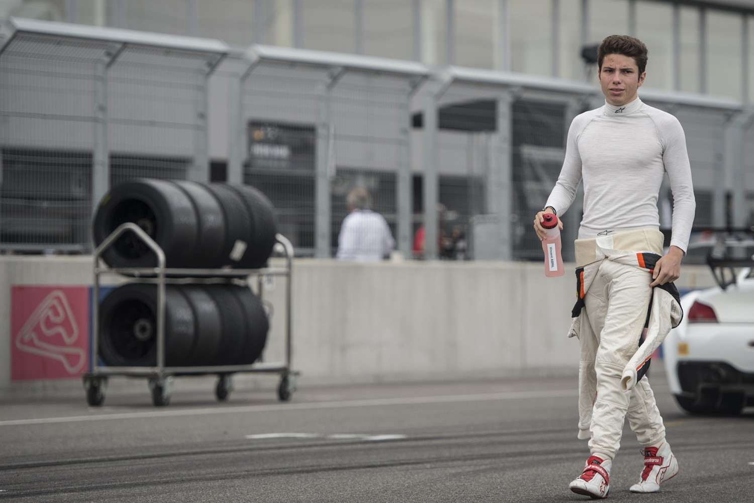Silver Cup winner Vincent Abril enters full Blancpain GT Series