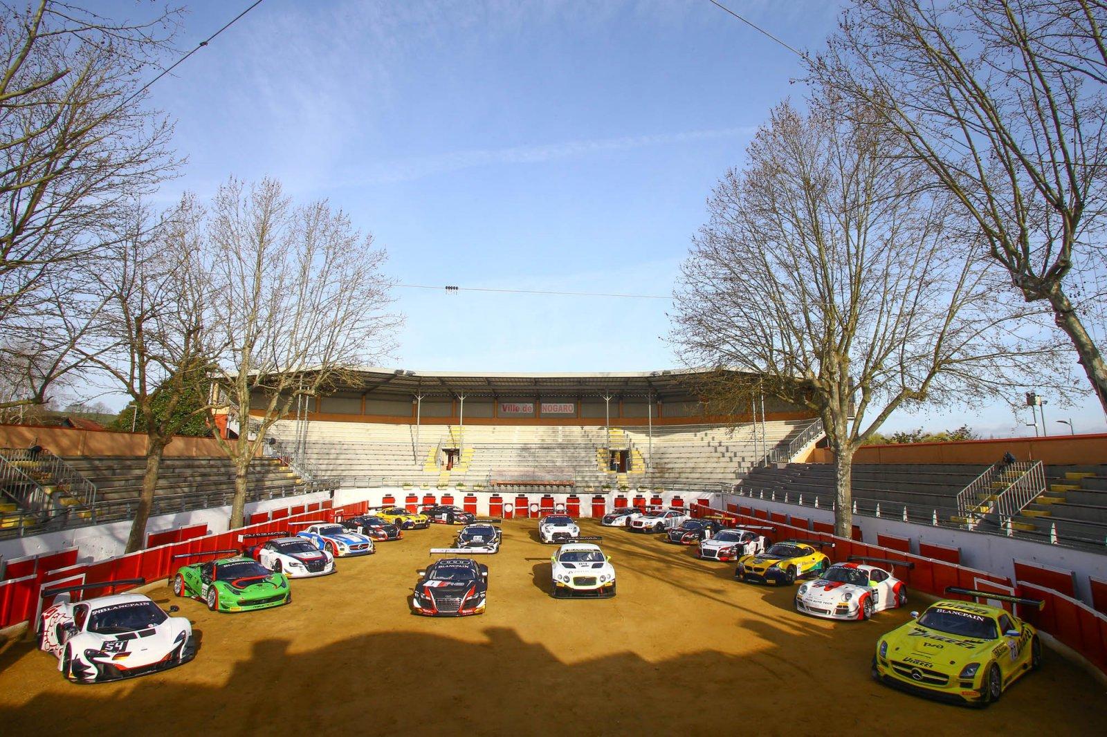 Official photoshoot kicks off Blancpain Sprint Series