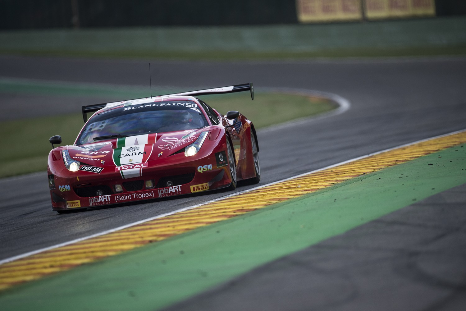 Bruni and Pier Guidi join Lémeret and Lathouras in Spa