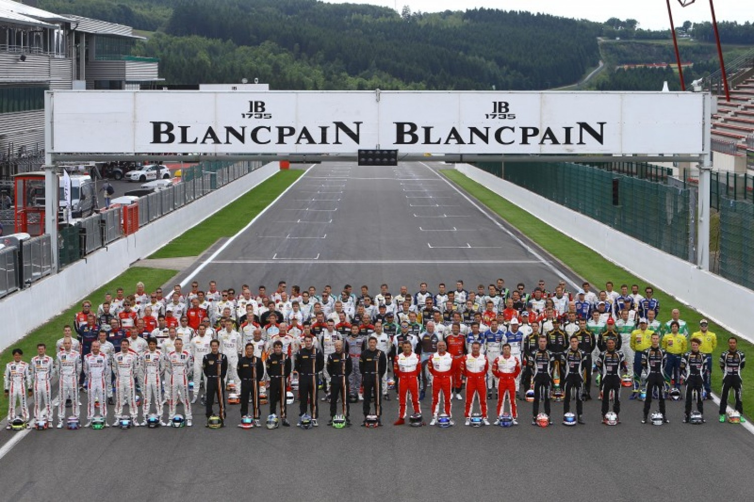 More than 200 drivers ready for the Total 24 hours of Spa