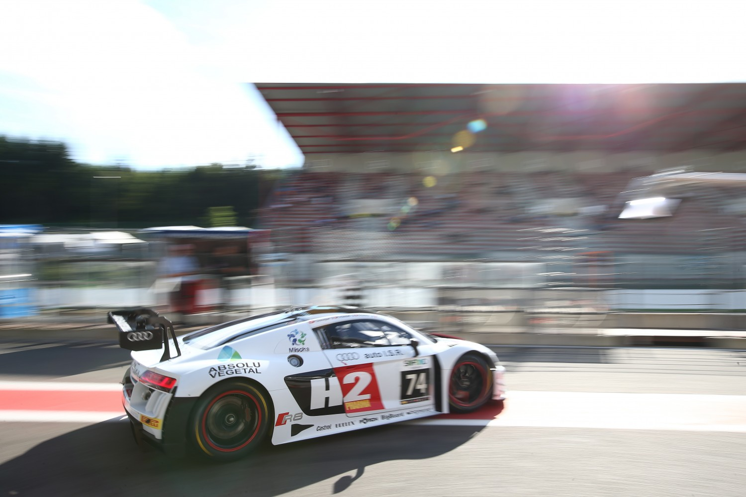 #74 ISR (CZE) AUDI R8 LMS GT3 HENRY HASSID (FRA) PHILIPPE GIAUQUE (CHE) FRANCK PERERA (FRA) NICOLAS LAPIERRE (FRA) | OLIVIER BEROUD / VISION SPORT AGENCY