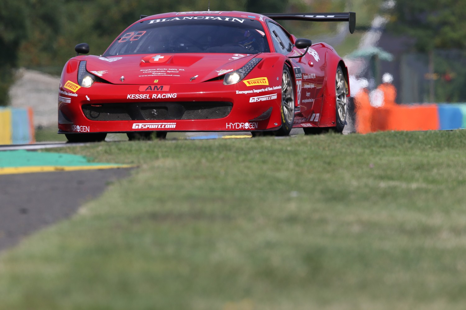 #888 KESSEL RACING (CHE) FERRARI 488 GT3 STEPHAN EARLE (USA) DAVID PEREL (RZA) | OLIVIER BEROUD / VISION SPORT AGENCY