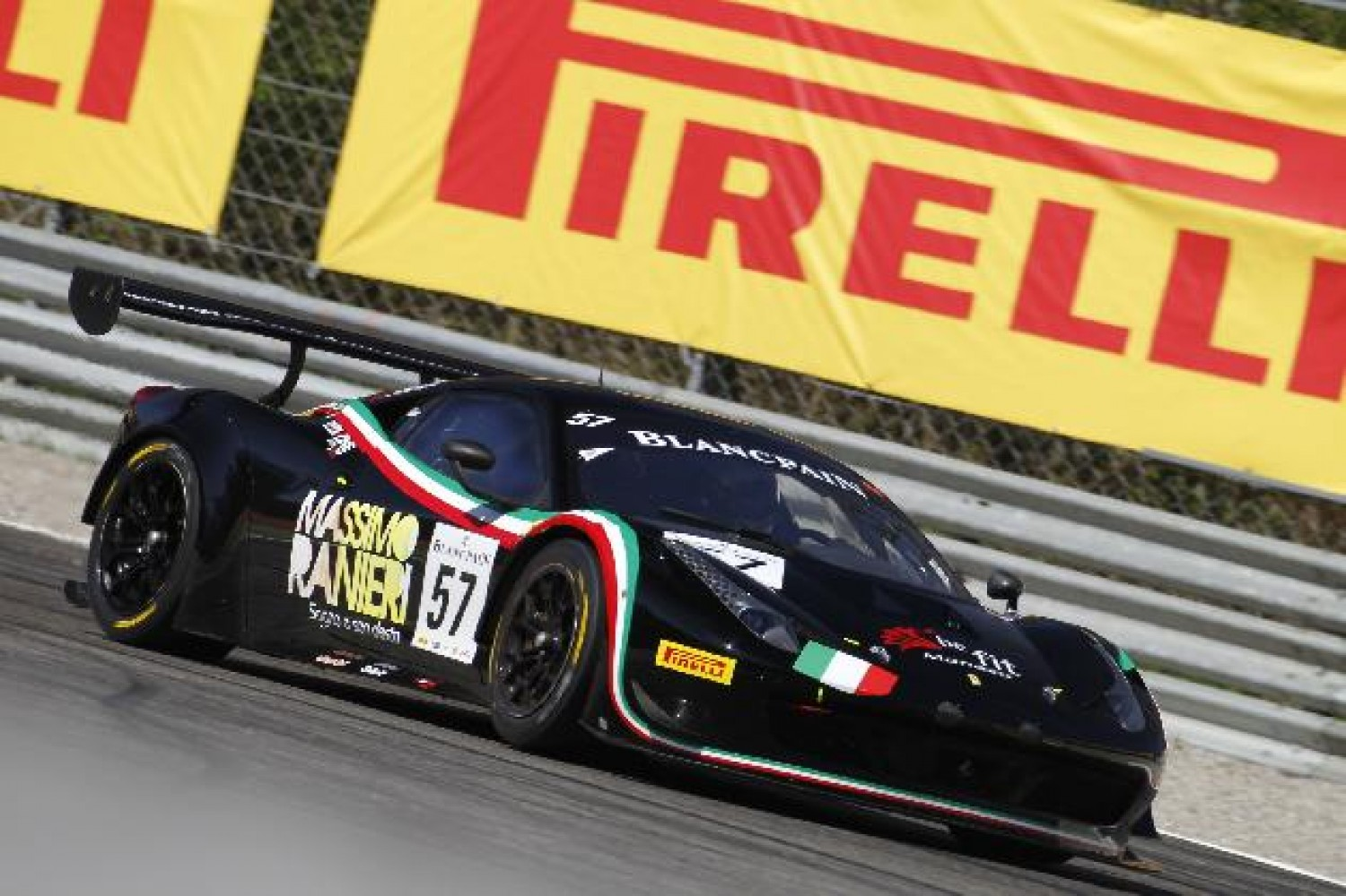 Pirelli enjoy home race at Monza