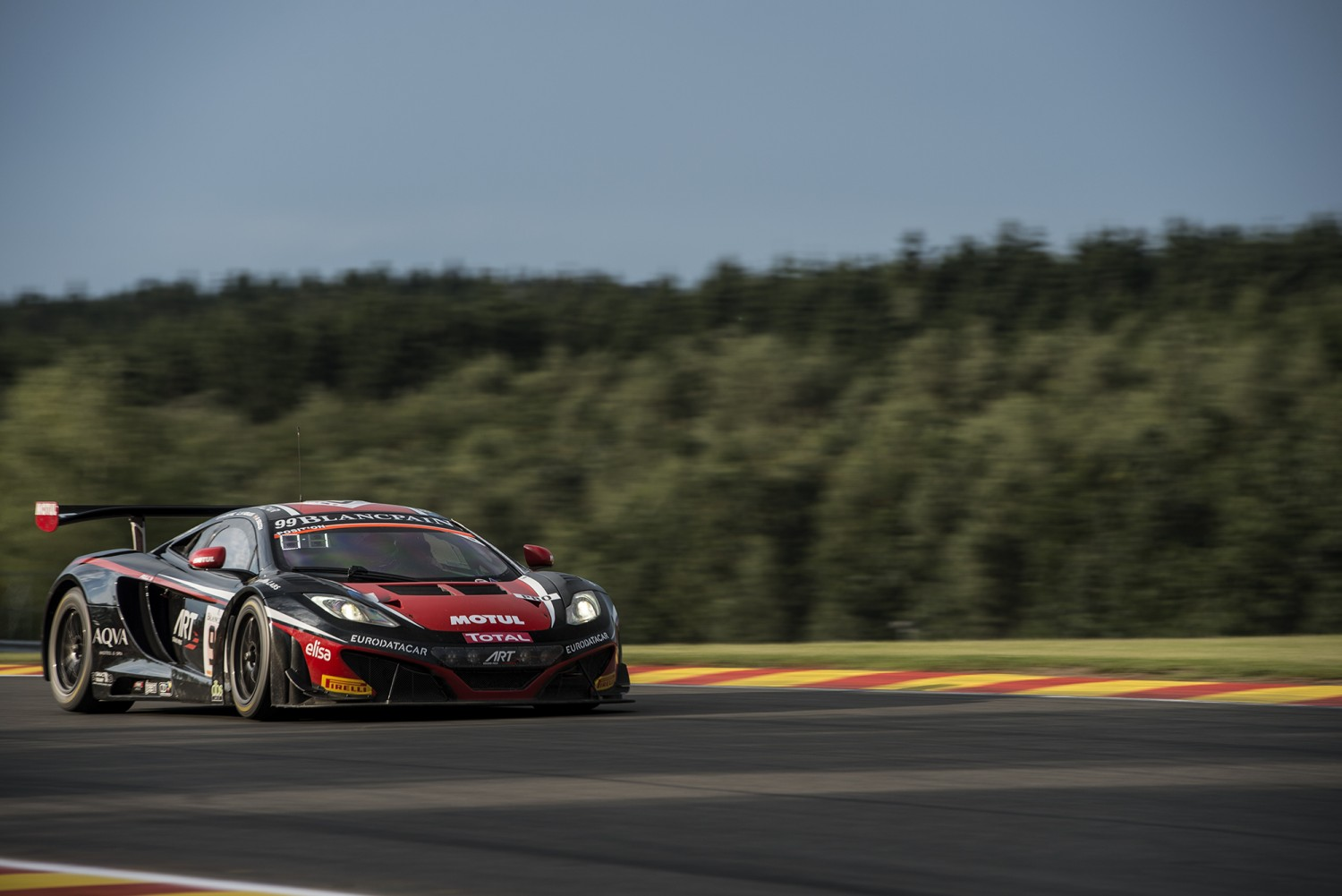 Total 24 Hours of Spa - ART Grand Prix McLaren quickest in pre-qualifying