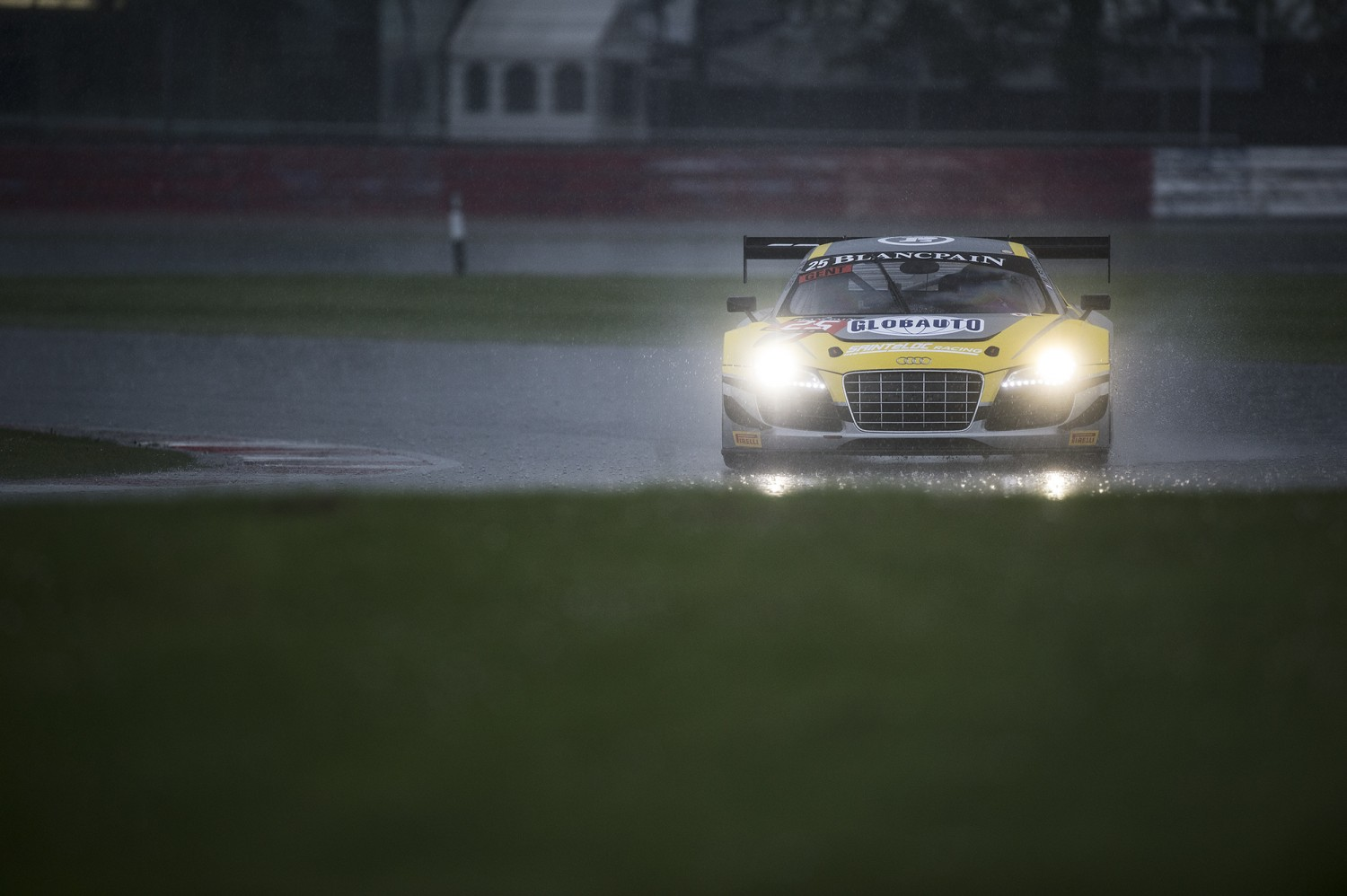 Not much action during very wet free practice
