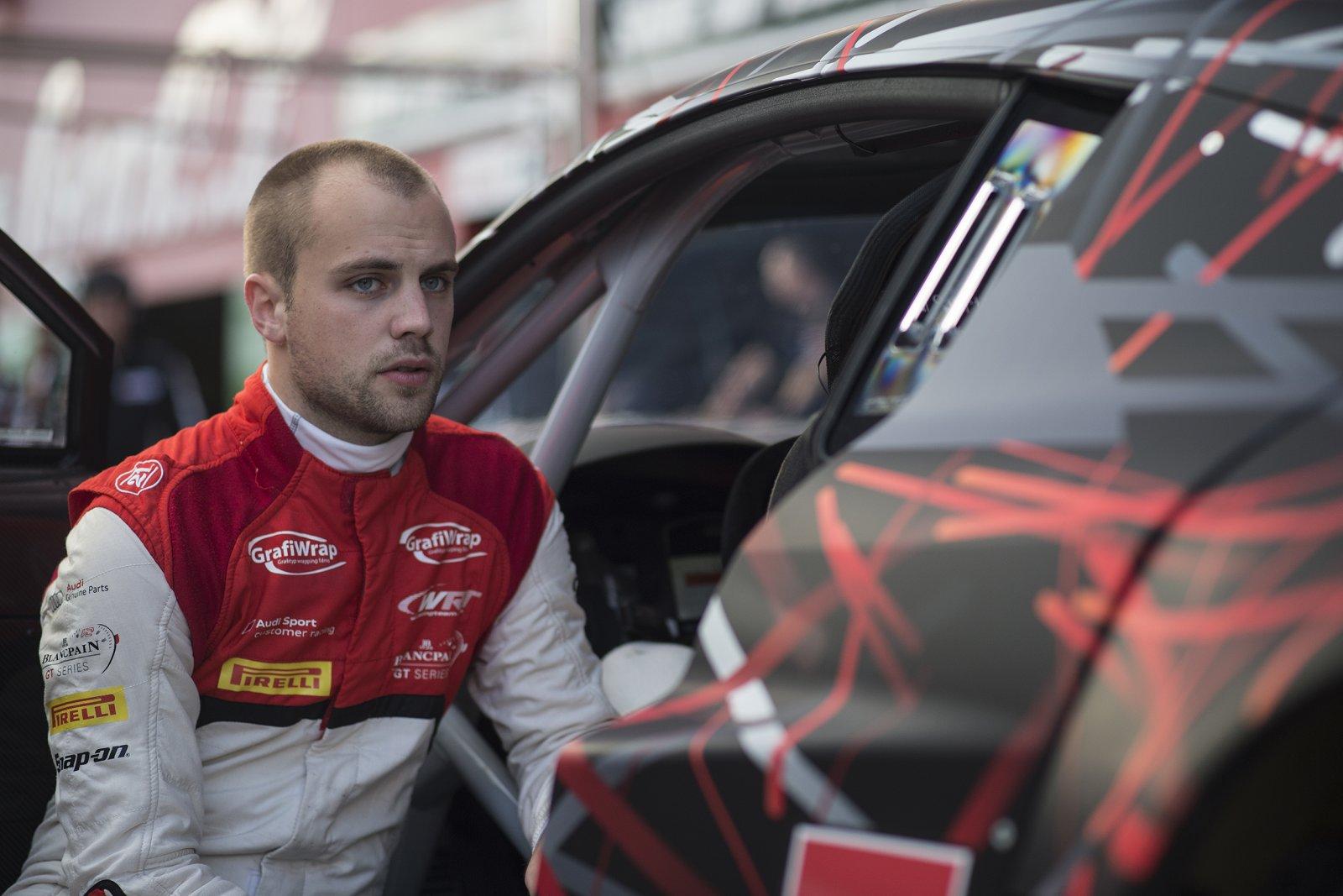 Laurens Vanthoor first Blancpain GT Series Driver Champion