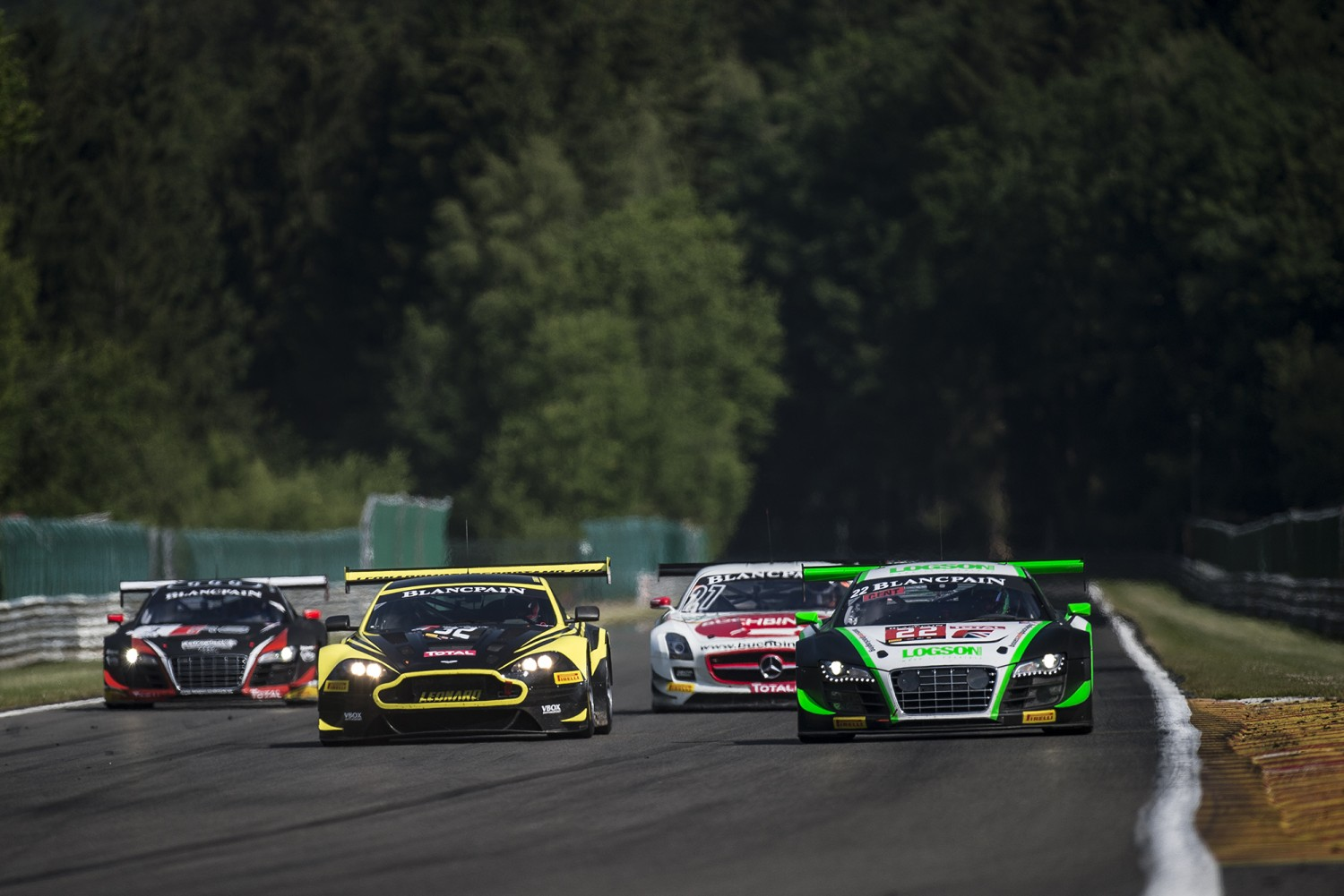 Official test day of Total 24 Hours of Spa sees plenty of action