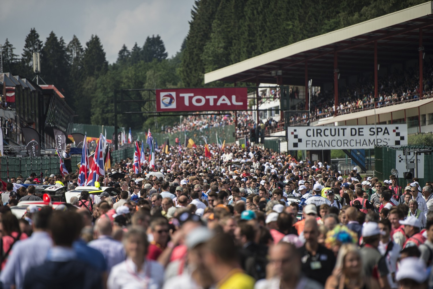 The 2014 Total 24 Hours of Spa in numbers