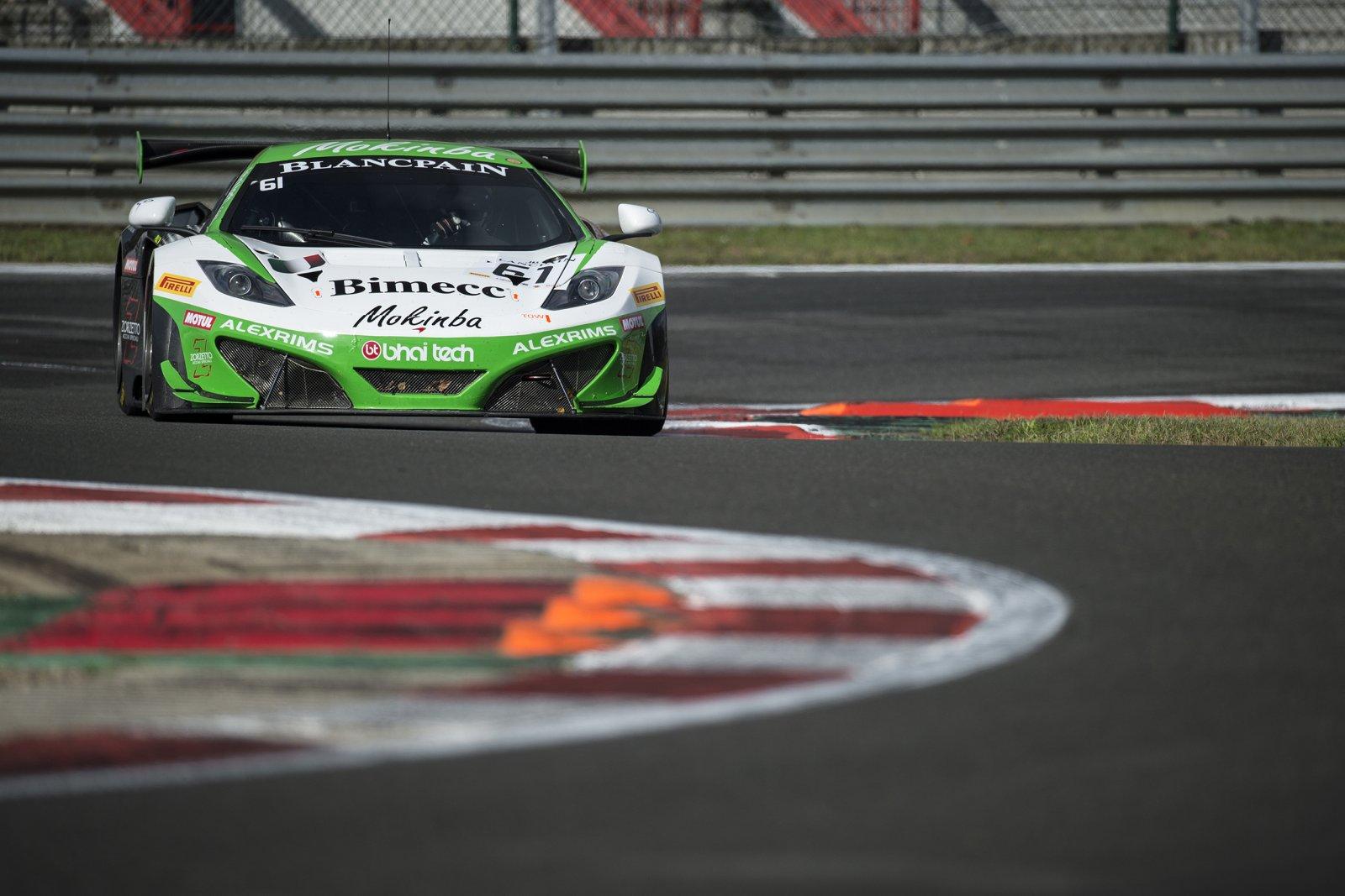 Zolder Round : Bhaitech McLaren tops first free practice