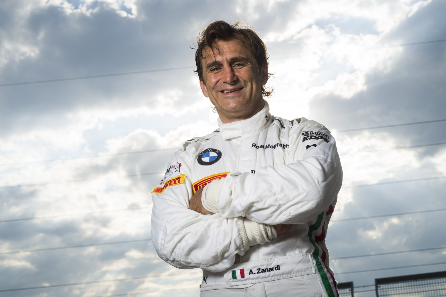 BMW works driver Alessandro Zanardi to compete in the Total 24 Hours of Spa