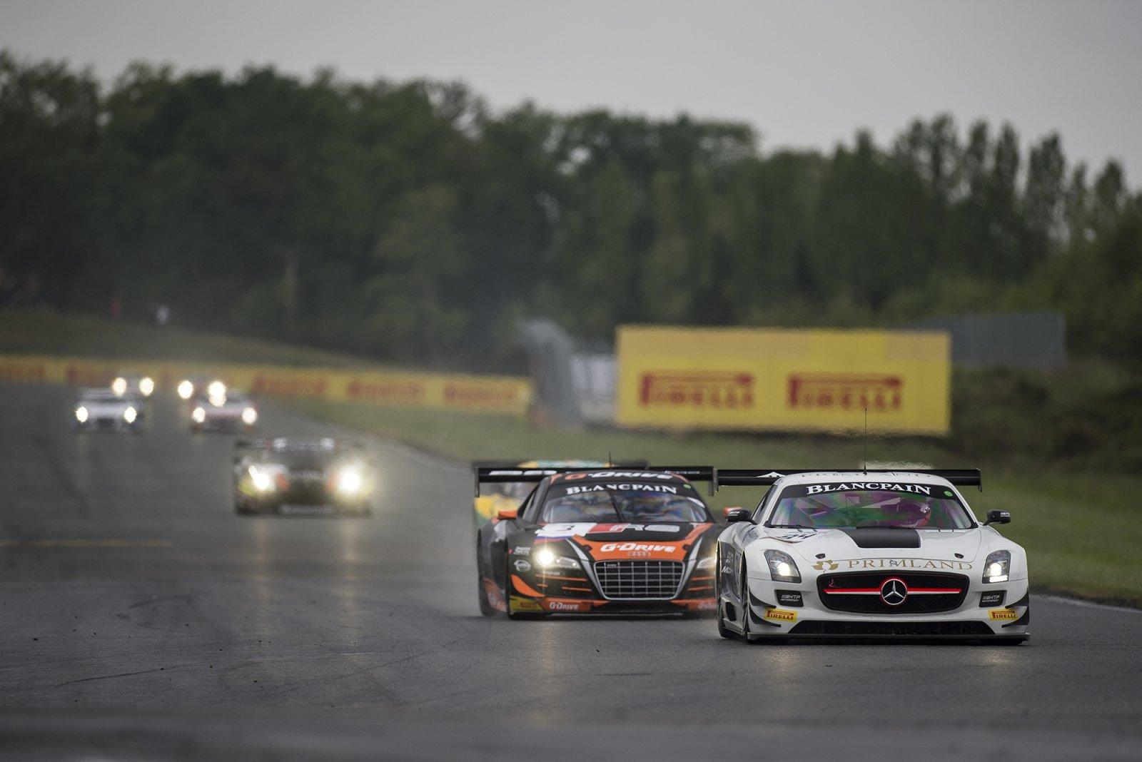 Breaking news - Nogaro Main Race - Buhk and Götz win first Main Race of 2014 Blancpain Sprint Series