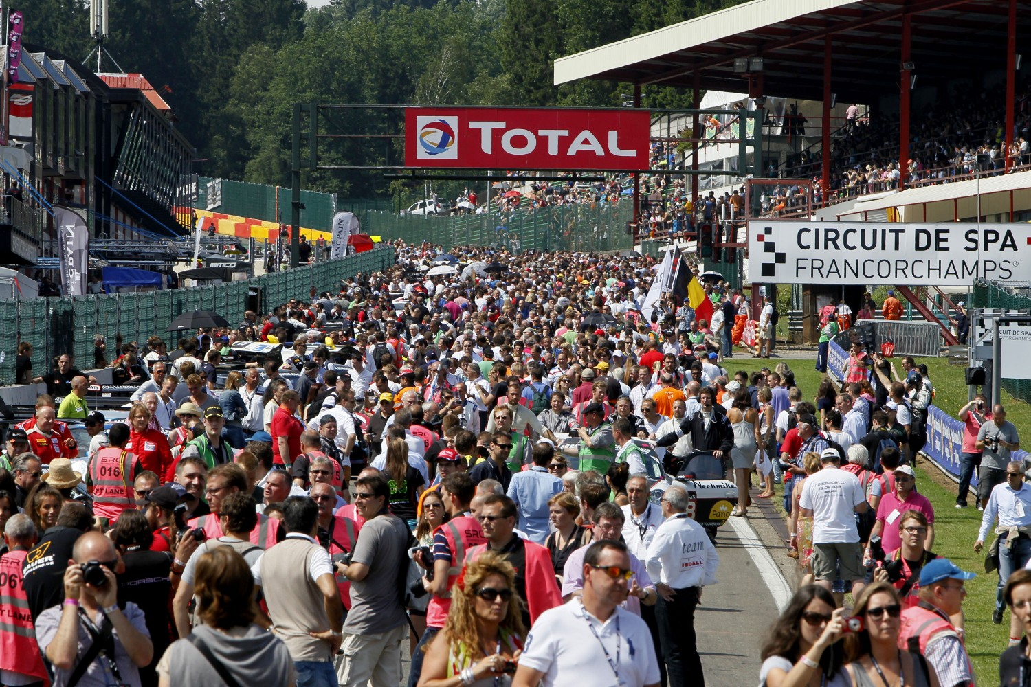 Total renews title sponsorship of the Total 24 Hours of Spa