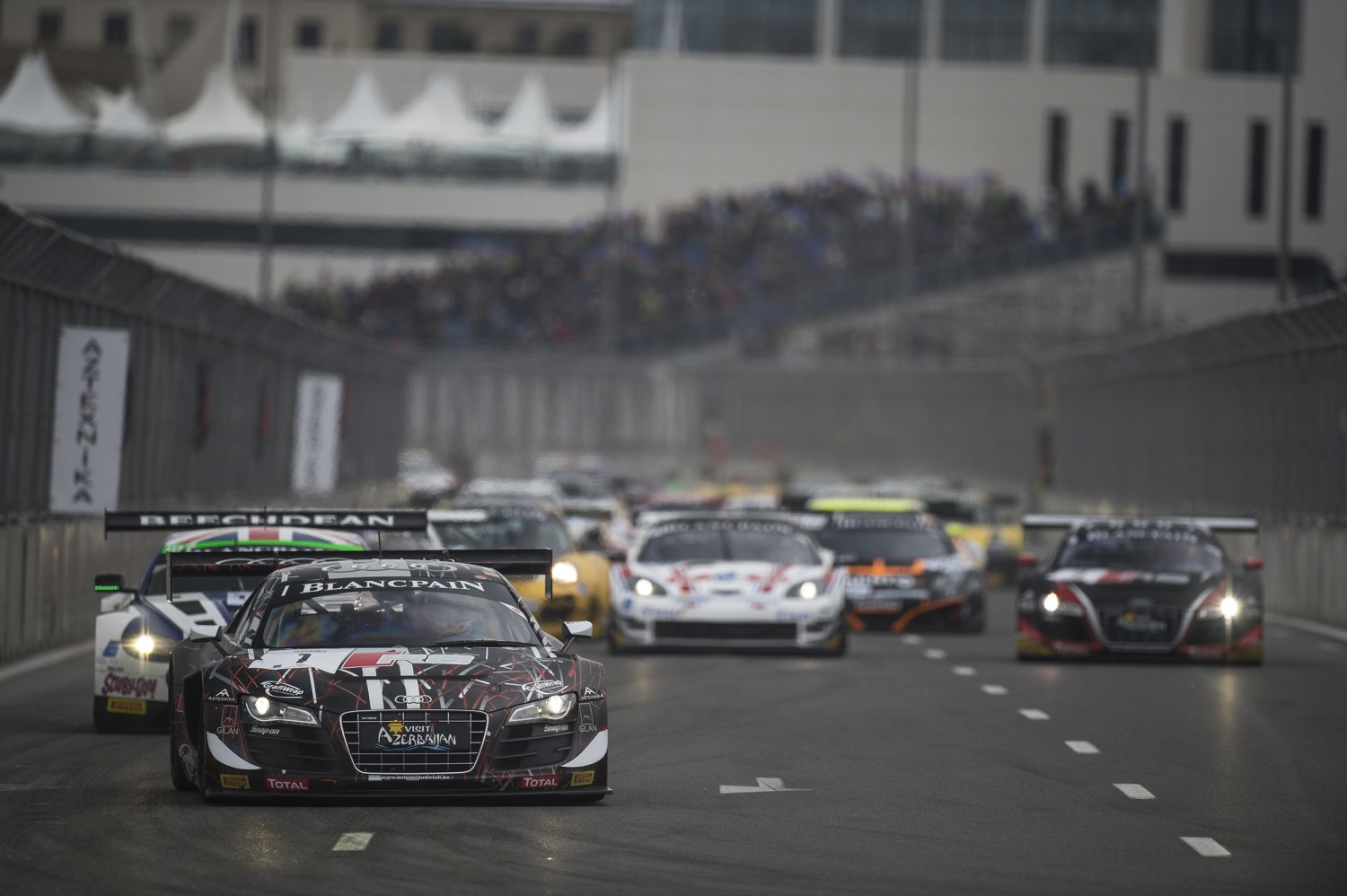 Baku World Challenge provides exciting finale to the 2014 Blancpain Sprint Series