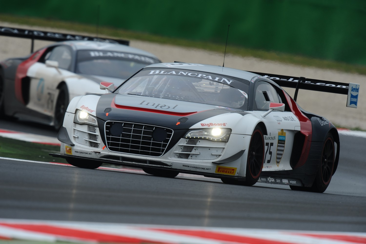 ISR shows speed at official Blancpain Sprint Series test days in Misano