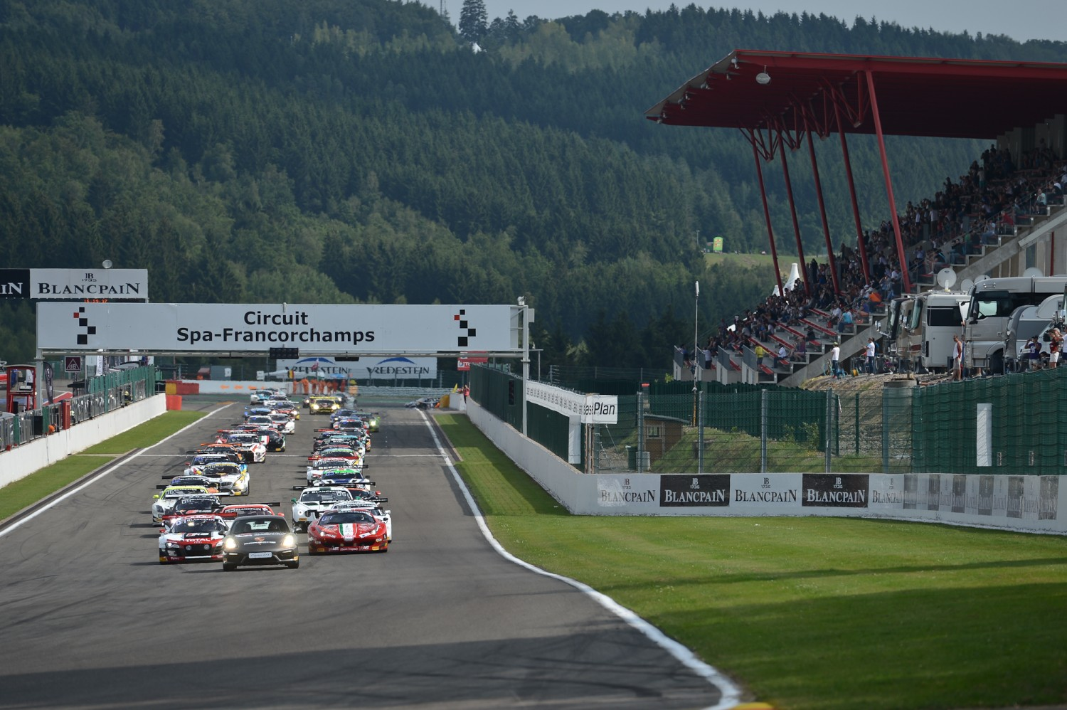 Stephane Ratel and the 2015 Total 24 Hours of Spa