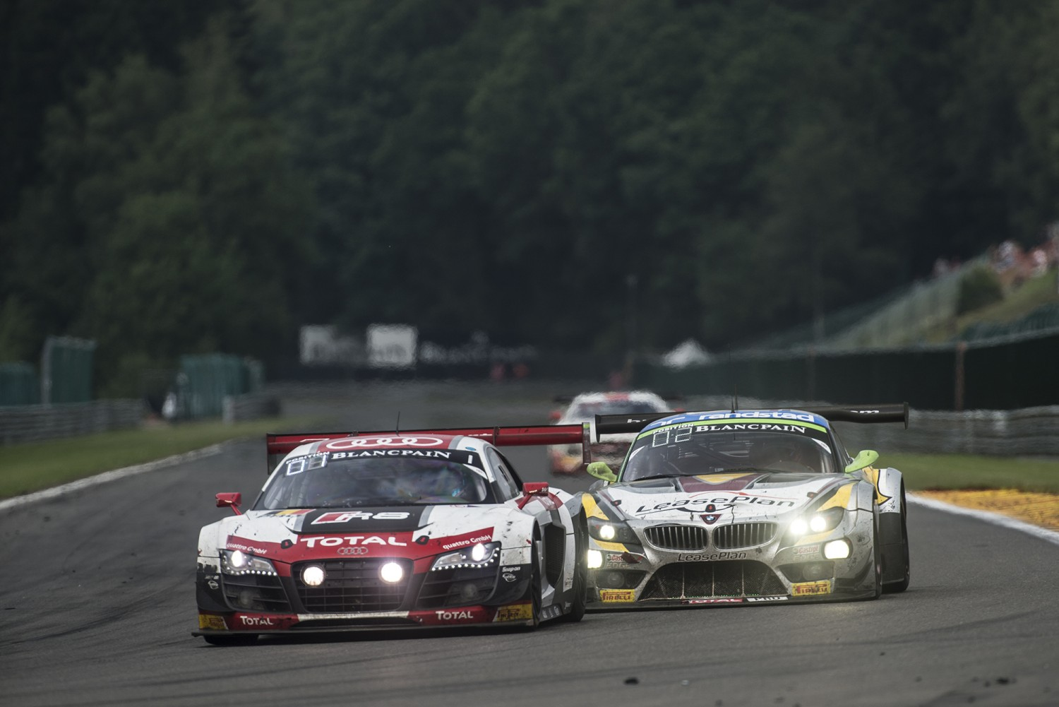 Strong attendance for the Official Test Day of the Total 24 Hours of Spa