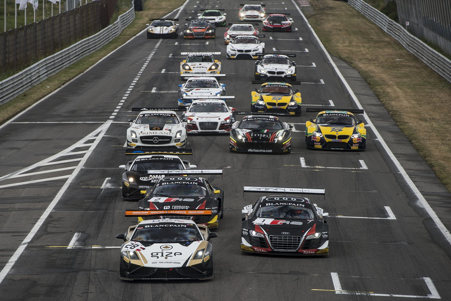 Zandvoort to replace Baku World Challenge as the final round of the Blancpain Sprint Series