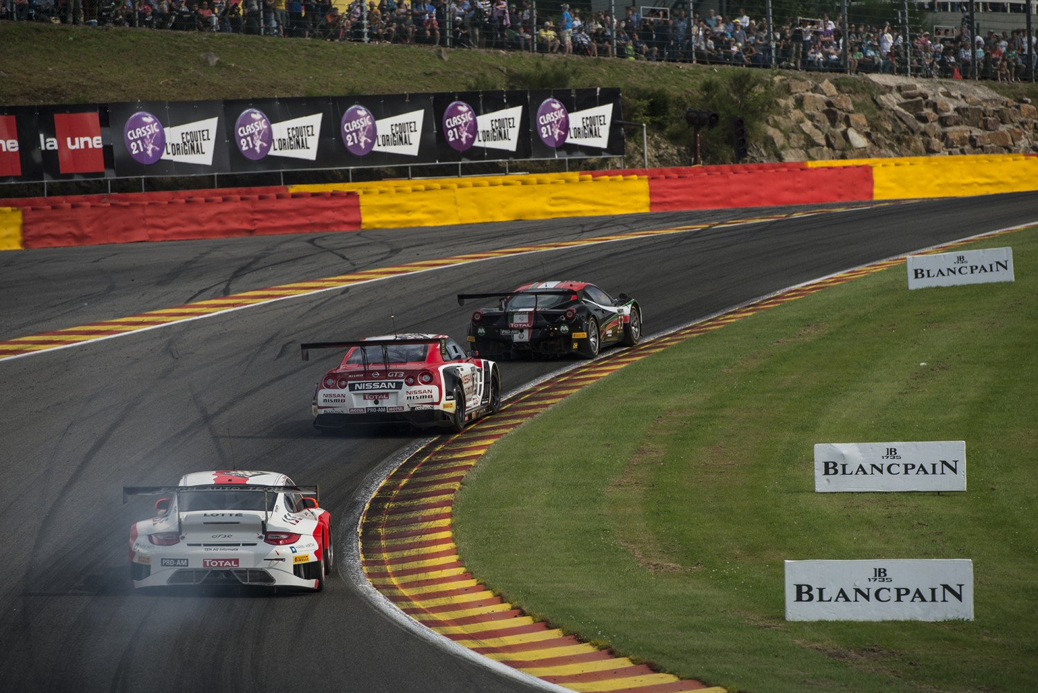 Big names join strong 66-car entry list for Total 24 Hours of Spa