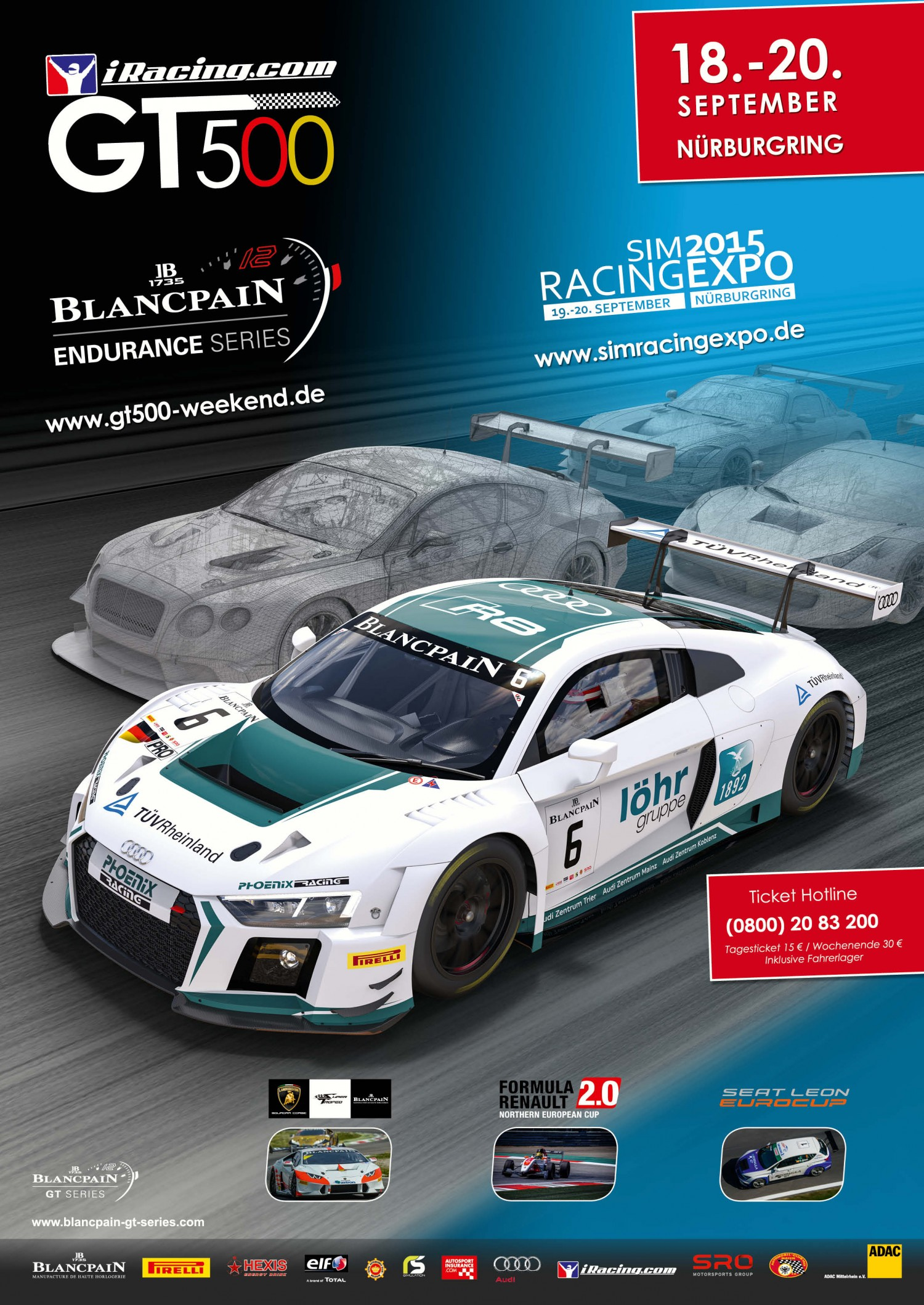 iRacing com GT500 race will decide the 2015 Blancpain