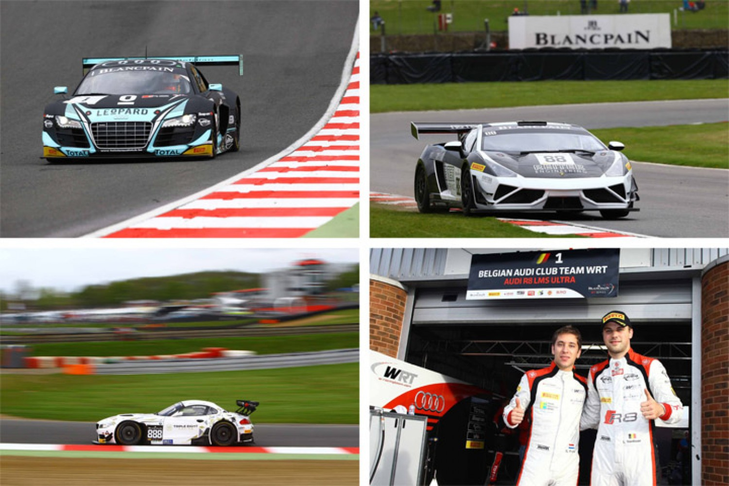 Laurens Vanthoor blitzes to pole in Brands Hatch