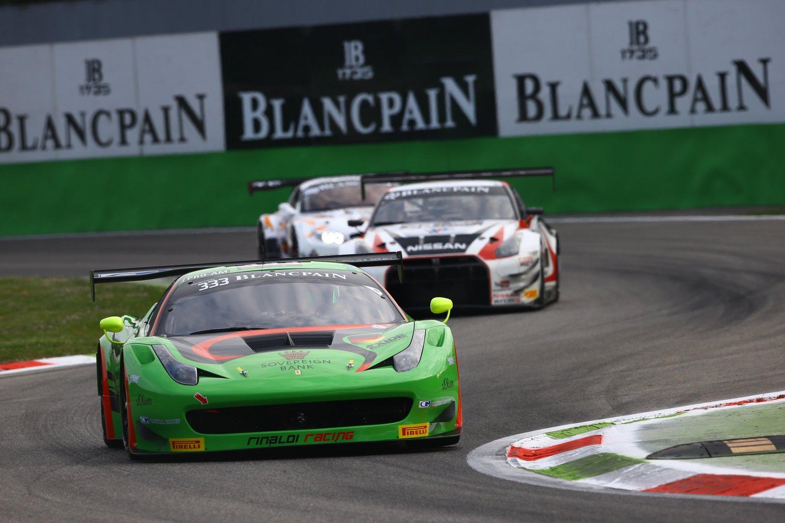Norbert Siedler puts Ferrari on pole in Monza