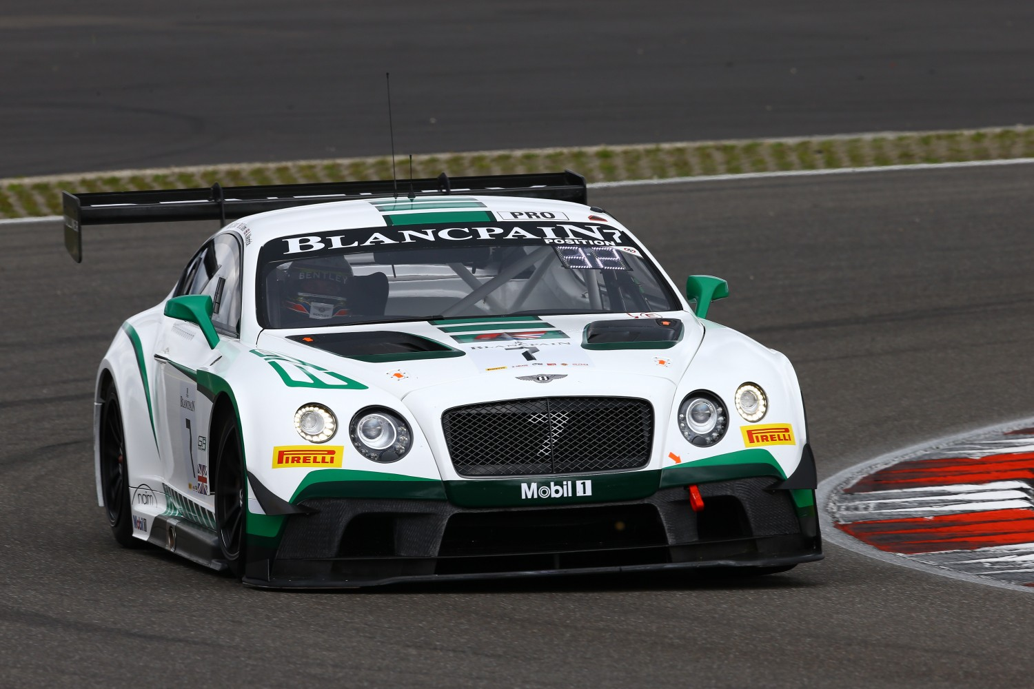 Bentley on top in Free Practice session