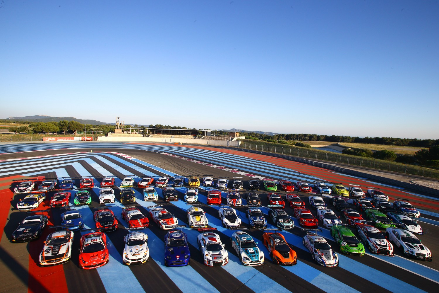 83 GT3 entries at Paul Ricard combining Blancpain GT and ‎increasingly successful GT Sports club