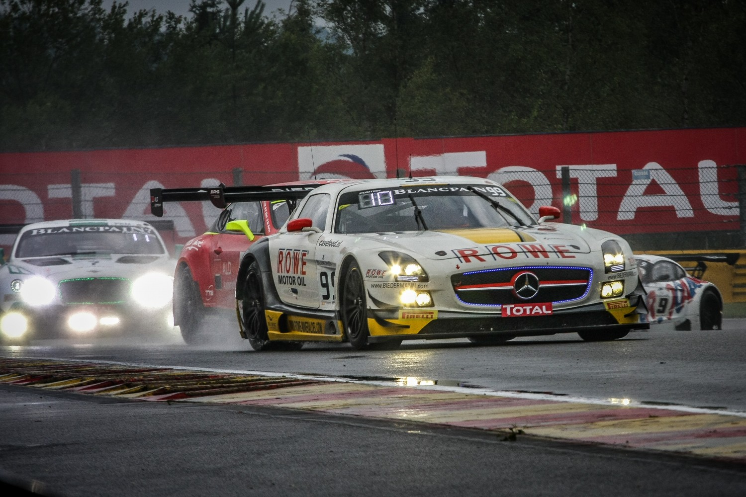 #99 Rowe Racing SLS take full points after six hours