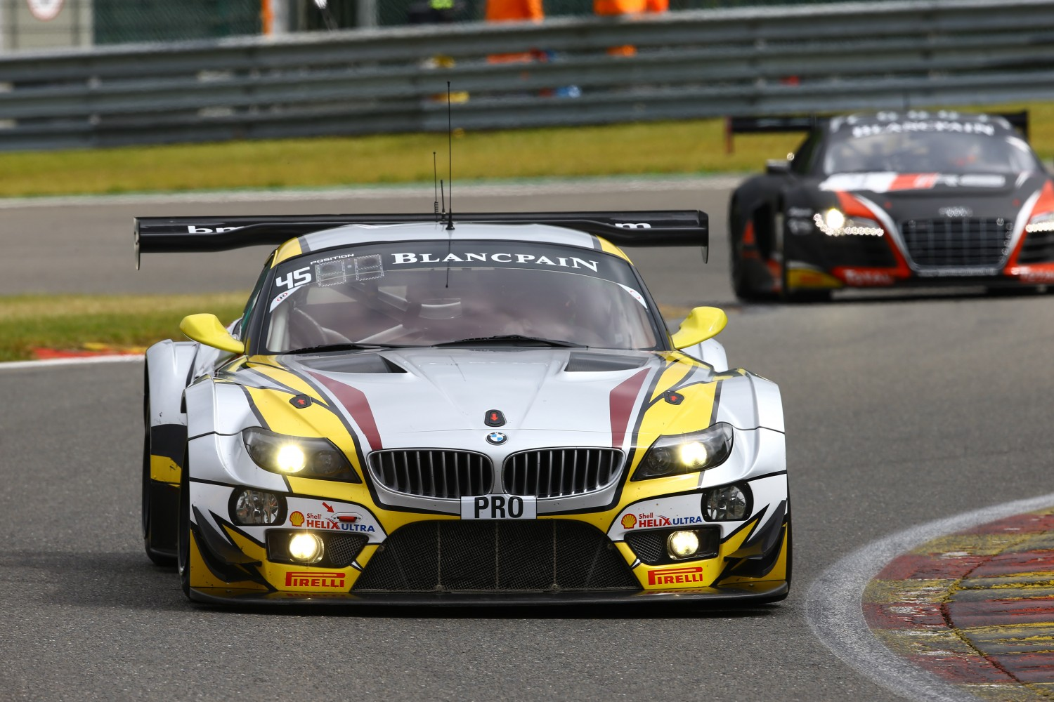 Official Test Day gives first glimpse of high level of competitiveness of Total 24 Hours of Spa
