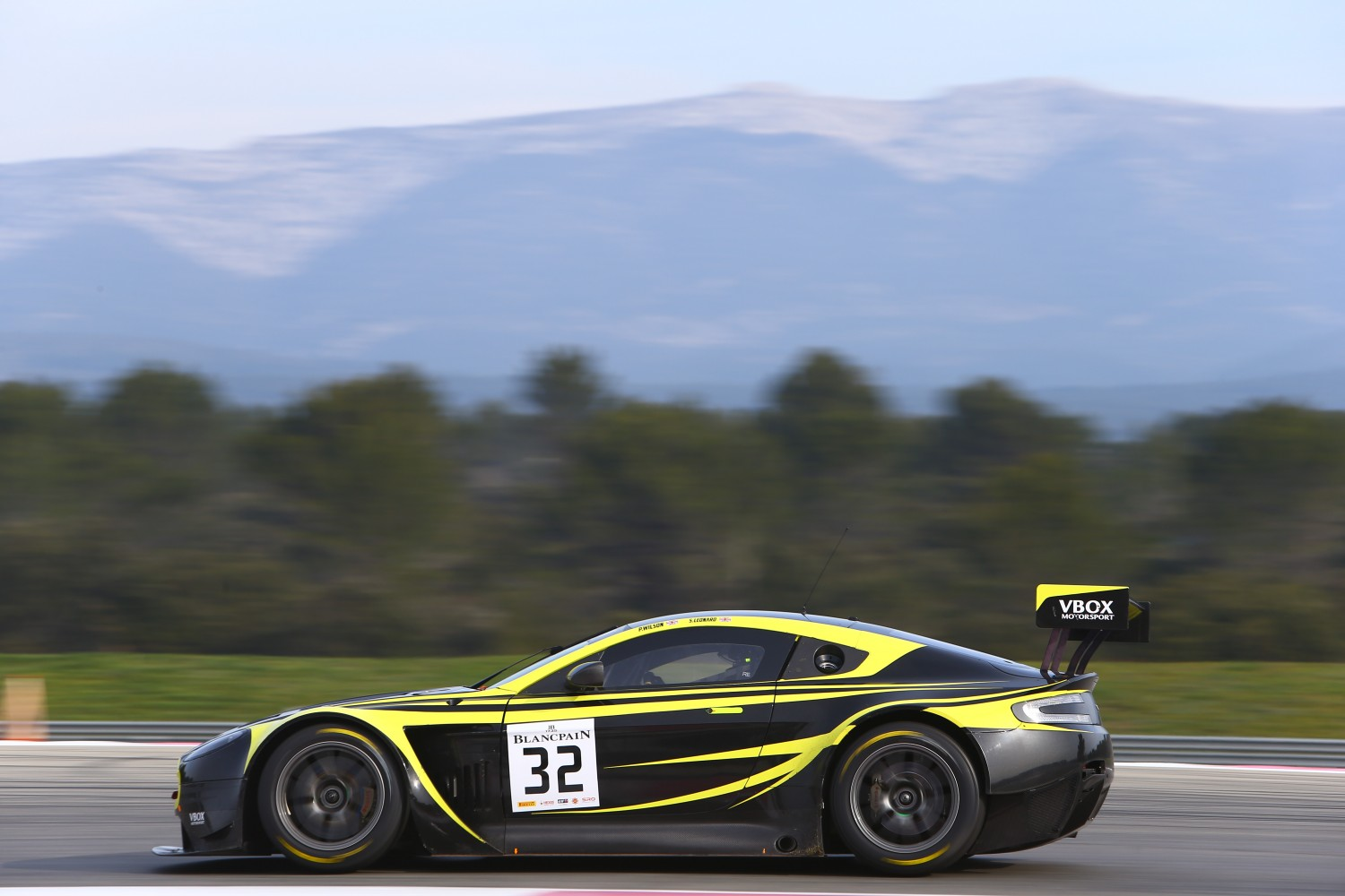 Paul Wilson Leonard Motorsports Aston Martin Racing Vantage GT fastest Bronze driver