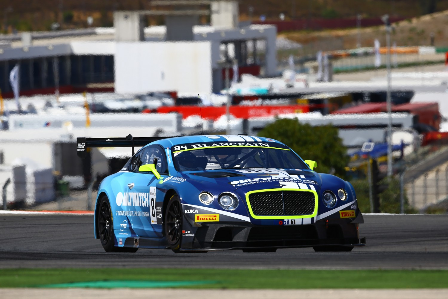 HTP Bentley fastest in second free practice