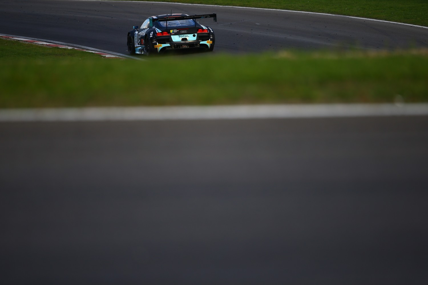 Audi lock-out in second free practice