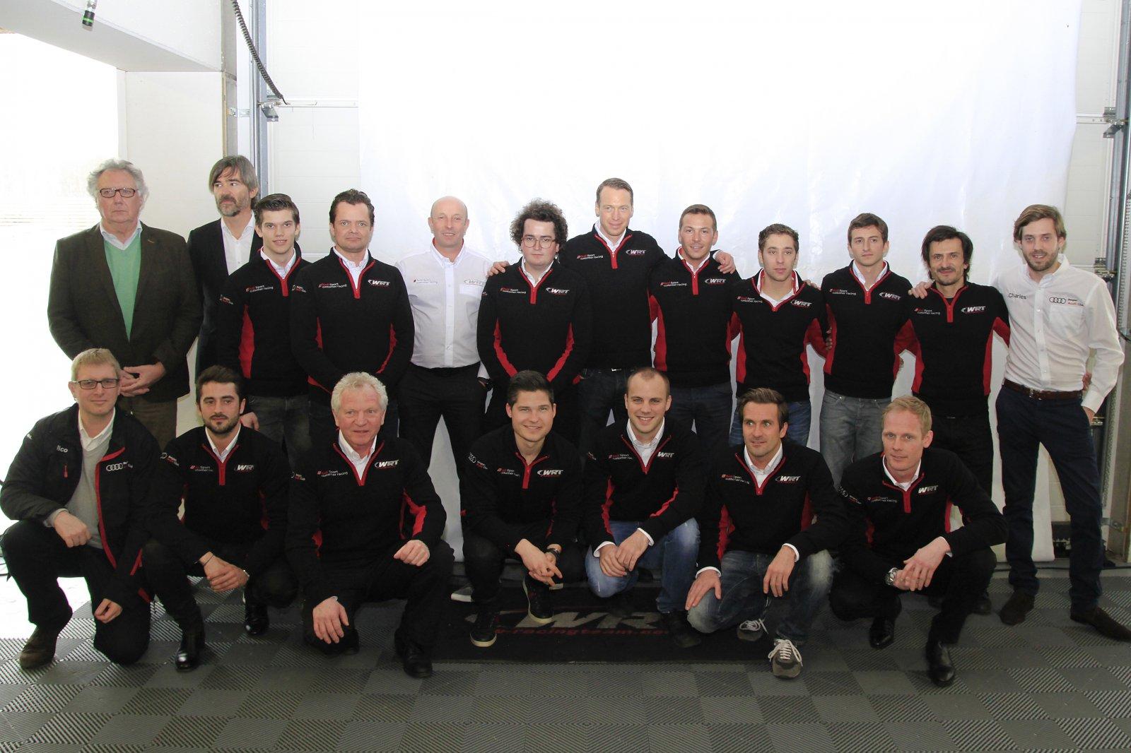 Belgian Audi Club Team WRT ready to defend their titles