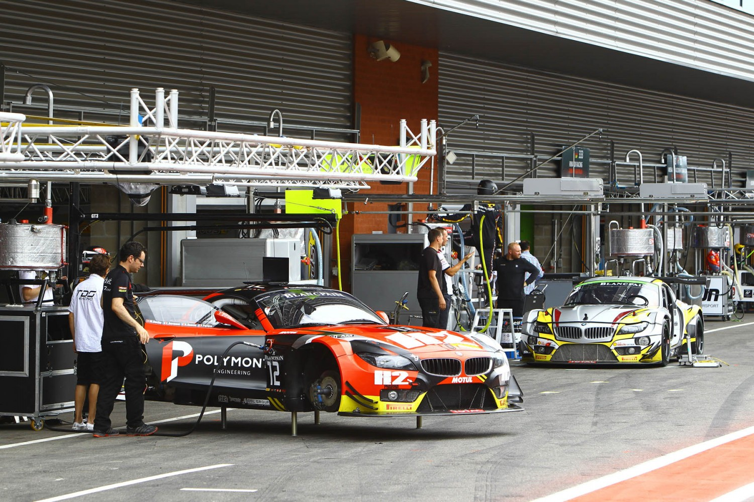 Bronze and Silver Test kicks off track action in Total 24 Hours of Spa