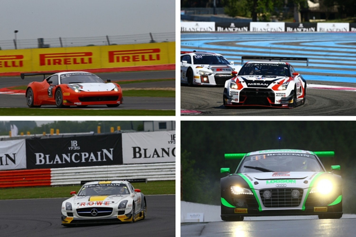 Multiple title candidates at Nürburgring season finale