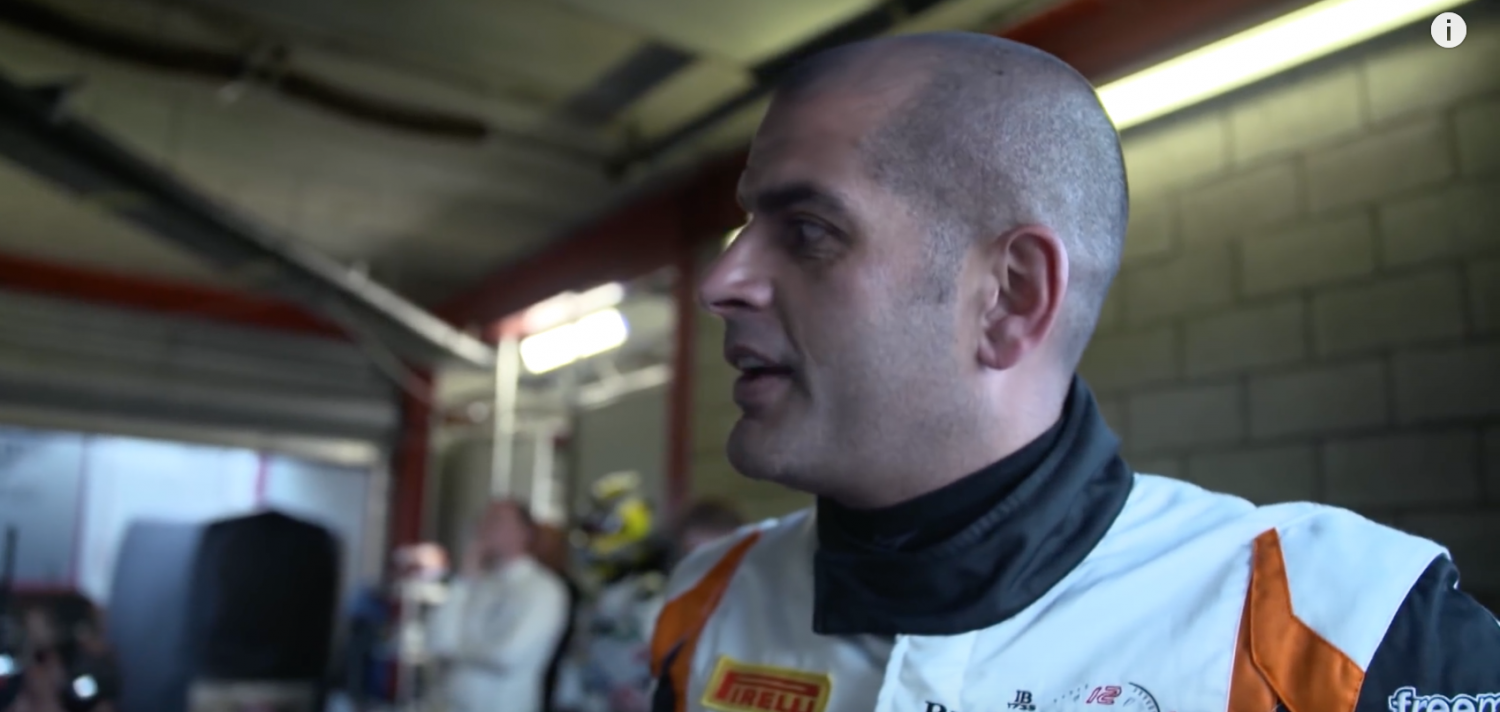 """Top Gear-presenter Chris Harris on Total 24 Hours of Spa : """"it was a lesson in attrition and karma""""."""