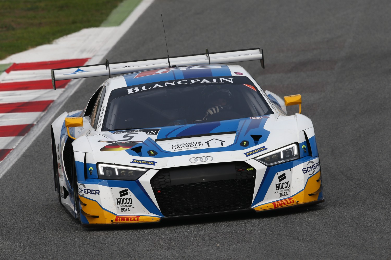 Phoenix Racing Audi on top in first free practice