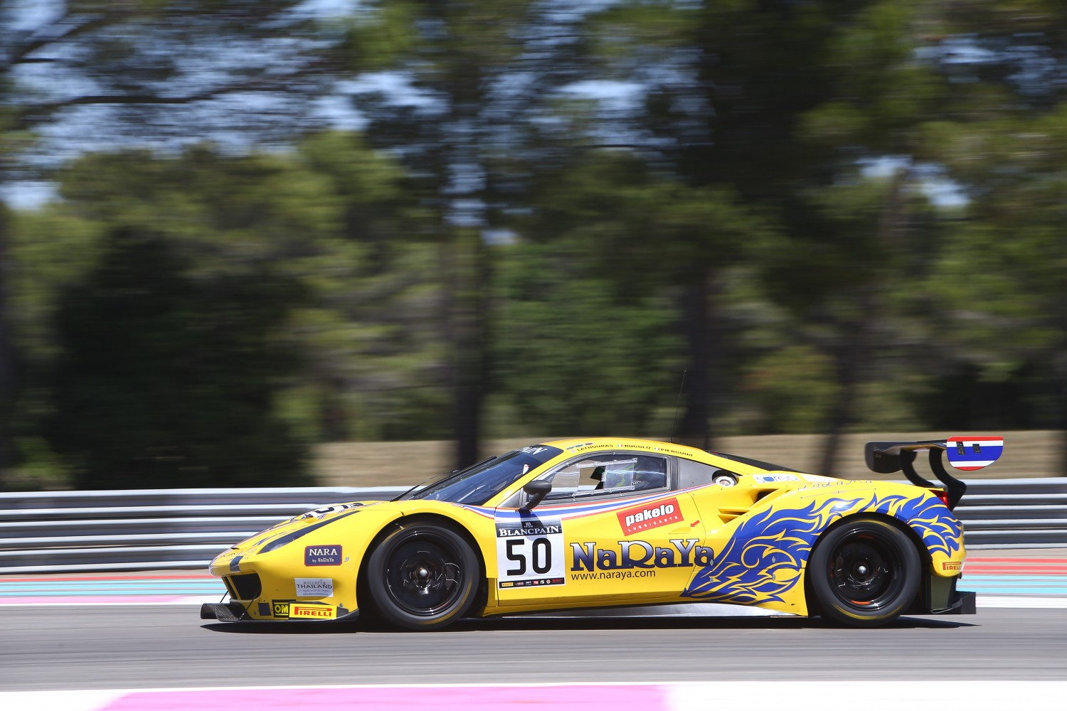 Alessandro Pier Guidi takes hard fought pole at Le Castellet