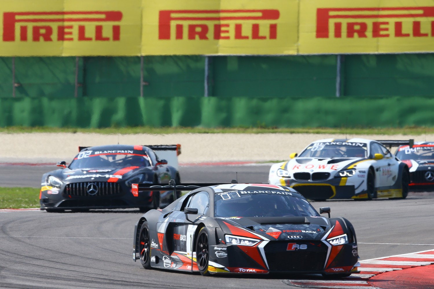 Vanthoor and Vervisch give Audi first win of the season
