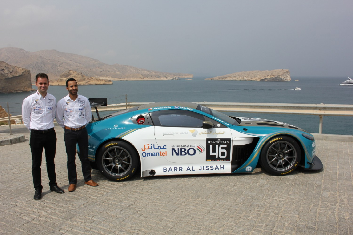 TF Sport set for Blancpain GT Series Endurance Cup with Oman Racing Team