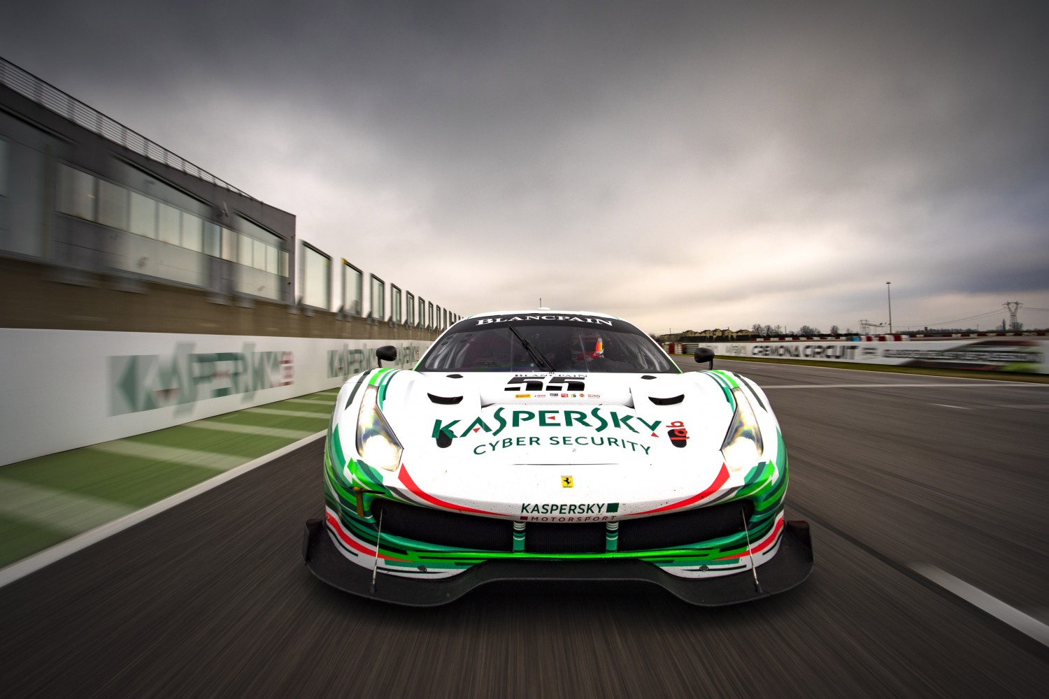 Ferrari ace Calado joins Fisichella and Cioci at Kaspersky Motorsport for Blancpain GT Series