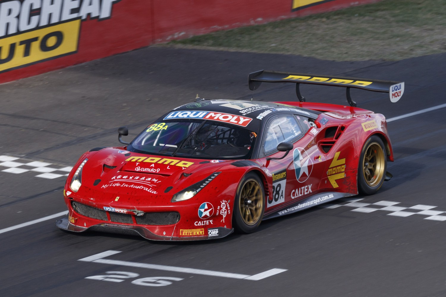 Ferrari heads to Total 24 Hours of Spa as leader in the Intercontinental GT Challenge