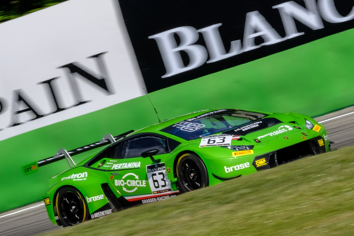 Emphatic Lamborghini win after eventful TM Performance 3 Hours of Monza