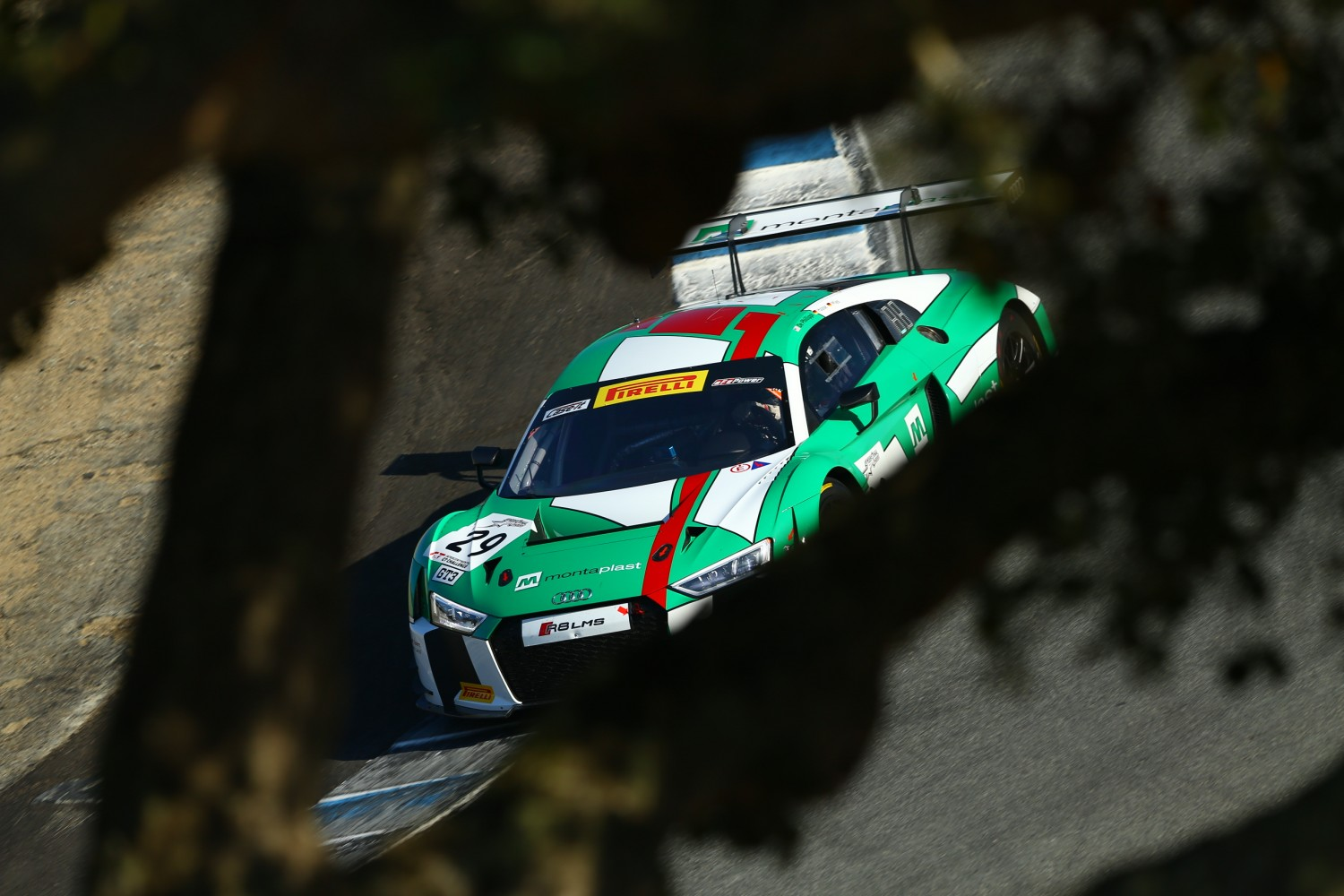 Audi Sport Team Land tops free practice