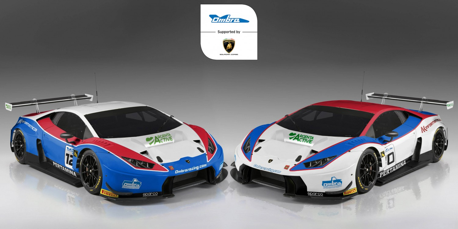 Ombra Racing enters Huracan in Blancpain GT Series Endurance Cup