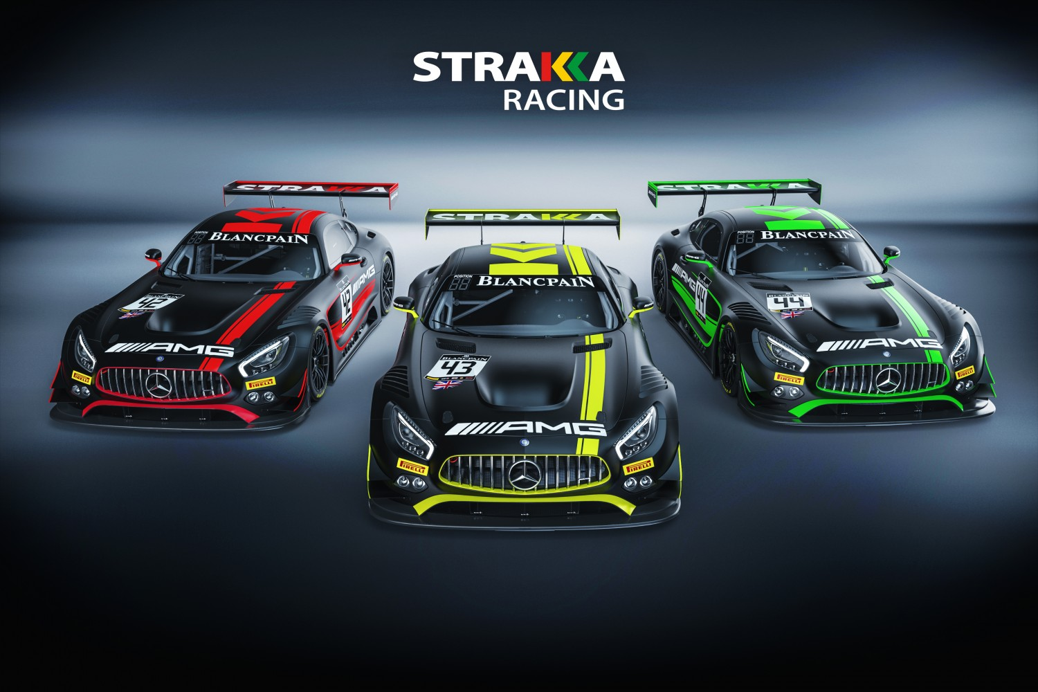Strakka Racing with Mercedes-AMG in 2018 Total 24 Hours of Spa